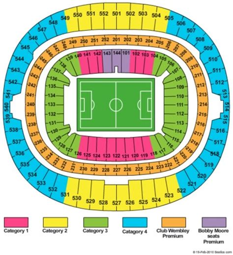 of stadium seating capacity wembley stadium tickets in greater wembley