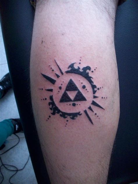 legend of zelda tattoo triforce by kalypunky dreaming of a new