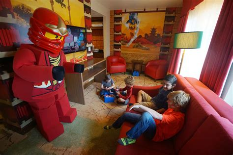 legoland bedrooms legoland california debuts lego ninjago rooms inside