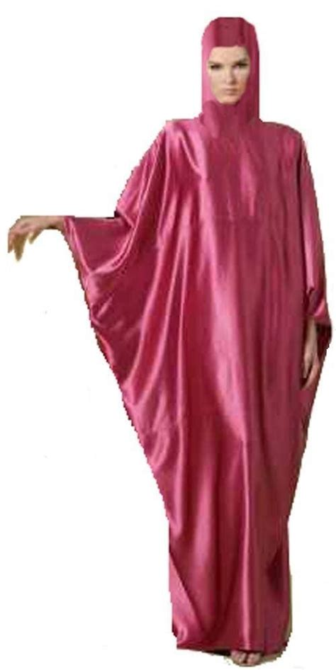 Satin Jilbab Islamic Satin Khimar Abaya Juba Jilbab Burqa Muslim