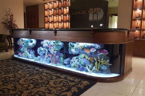 fish tank for desk at work reception desk fish tank fish tanks in the office receptions fish and reception
