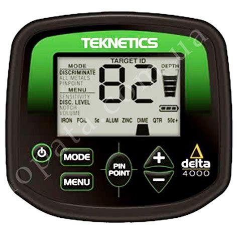 teknetics delta 4000 teknetics delta 4000 купить металлоискатель в киеве