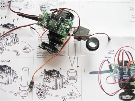 doodle bot drawing robot arduino compatible kit building a doodle bot kit from dagu use arduino for projects
