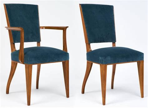 art deco dining room chairs french art deco set of cherrywood dining room chairs at