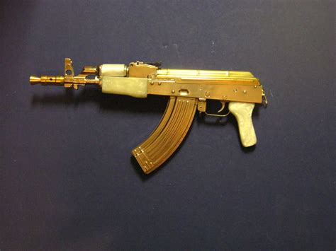 wallpaper gun gold gold ak47 wallpaper wallpapersafari