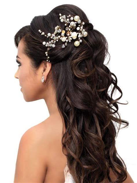 Wedding Hairstyles With Pearls by Black Bridal Hairstyle With Pearls Ipunya