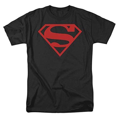 Collection Lany Tshirt Logo Superman t shirt superman on black shield large niftywarehouse