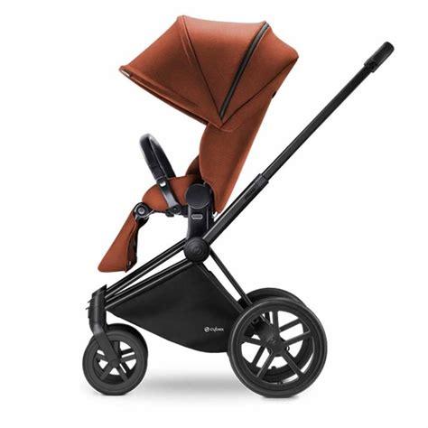 cybex car seat stroller frame cybex priam matt black frame with seat