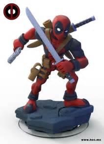 Disney Infinity Figures Amazing Deadpool Infinity Figure Concept By Hector