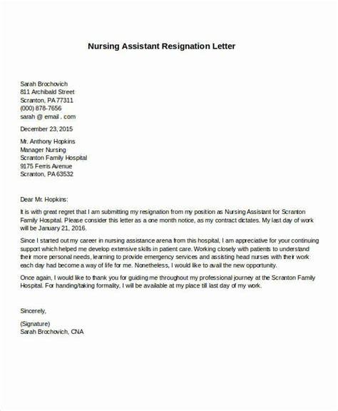 registered nurse resignation letter fresh formal