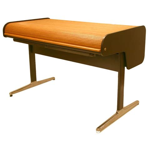 Herman Miller Office Desk George Nelson Office Roll Top Desk For Herman Miller At 1stdibs