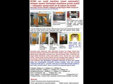 Mesin Cuci Sanken Semi Otomatis automatic car wash cuci mobil semi otomatis mandirimaju