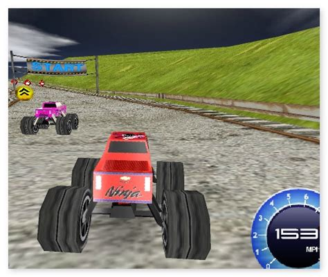 3d monster truck racing games online big monster truck 3d annular dirt racing nascar rally on