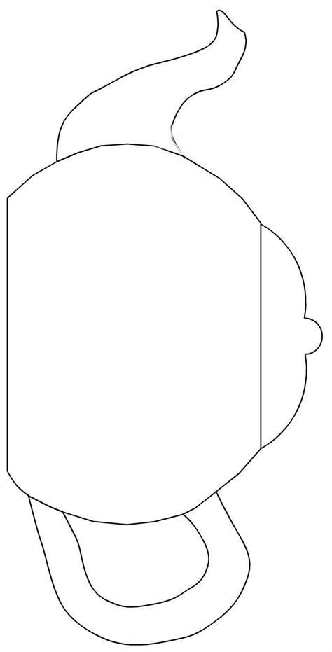 teapot template printable teapot templates free printable cut the teapot handle