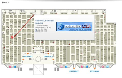 javits center floor plan ahr expo 2014 january 21 23 comefri usa centrifugal