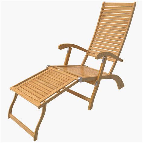 chaise lounge beach chair chaise lounge beach chair 3d c4d