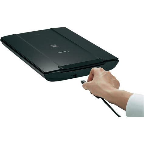 flat bed scanner canon lide 110 flatbed scanner 2400 x 4800 dpi from conrad com