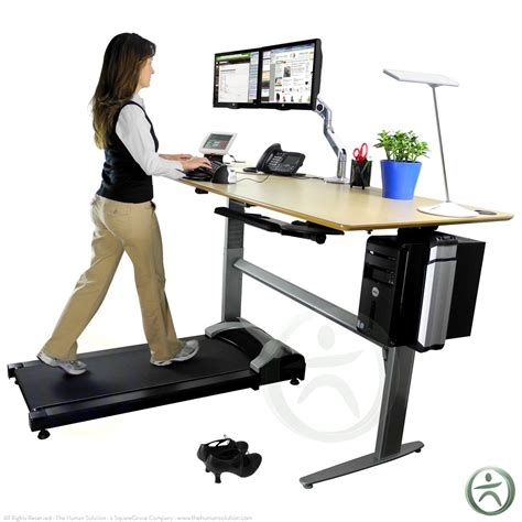 Laptop Desk For Treadmill The Tread Treadmill By Treaddesk Shop Standing Desk Treadmills