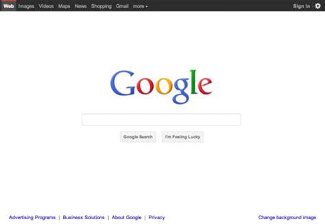 design google page nouveau design pour la page d accueil google