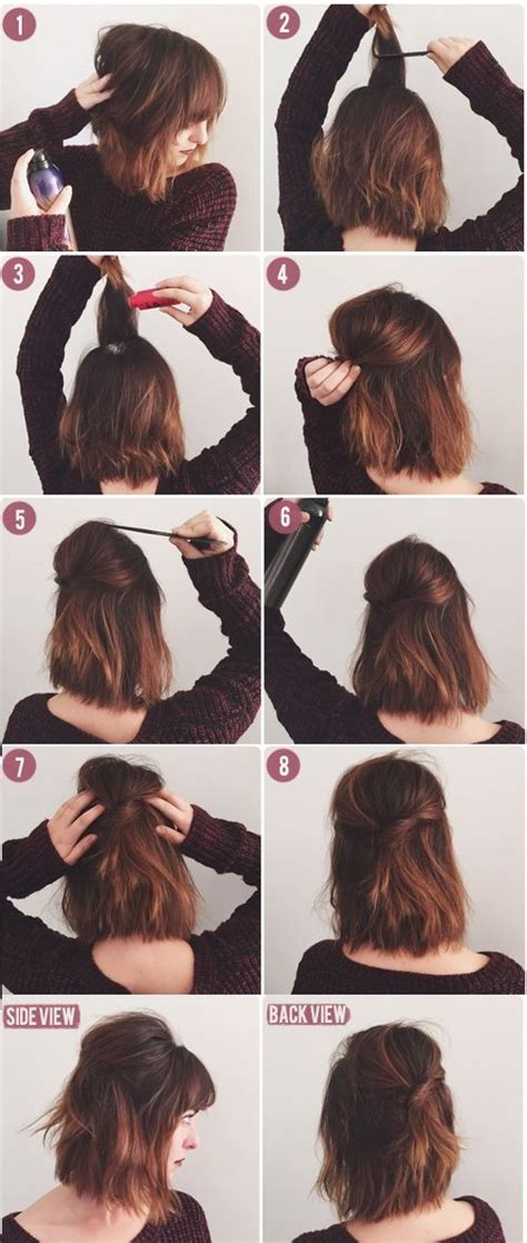 how to wear hair to bed 8 cute short hairstyles for everyday wear mashoid