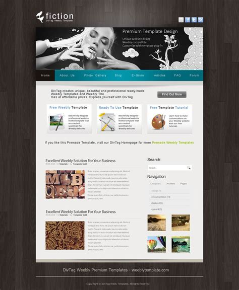 divtag templates weebly templates and weebly themes divtag templates