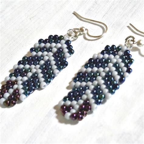 free seed bead earring patterns free seed bead earring patterns earrings these are