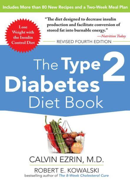 type  diabetes diet book  robert  kowalski calvin ezrin paperback barnes noble