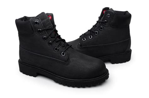 timberland juniors boots 6in premium 98975 black ebay