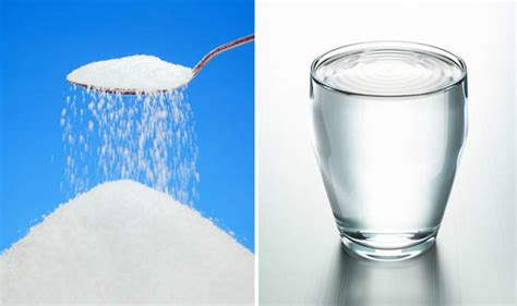 new research has found that drinking water and sugar is
