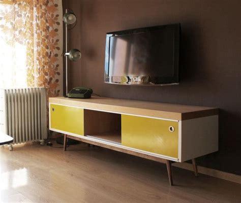 ikea lack tv furniture hacked  vintage style
