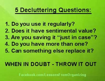 lose your stuff find yourself free from clutter s emotional grip books quotes about decluttering quotesgram