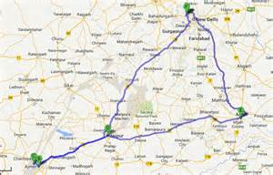 golden triangle map golden triangle tour package with pushkar jaipur agra