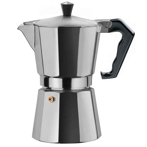 espresso maker brazil express 9 cup coffee maker aluminium made in italy