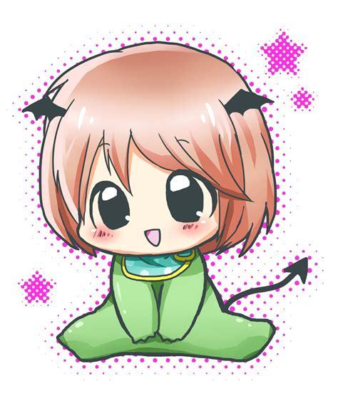 anime chibi mao chibi devi chibi devil zerochan anime image board