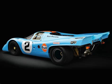 Porsche 917 From 1970 In The Distinctive Gulf Oil Livery