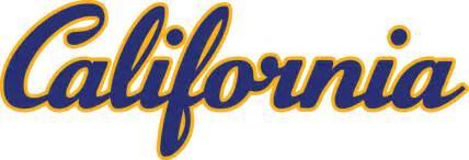 Cal Berkeley Logo Outline by California Golden Bears 1992 Pres Wordmark Logo Iron On Sticker Heat Transfer Cad 2 00