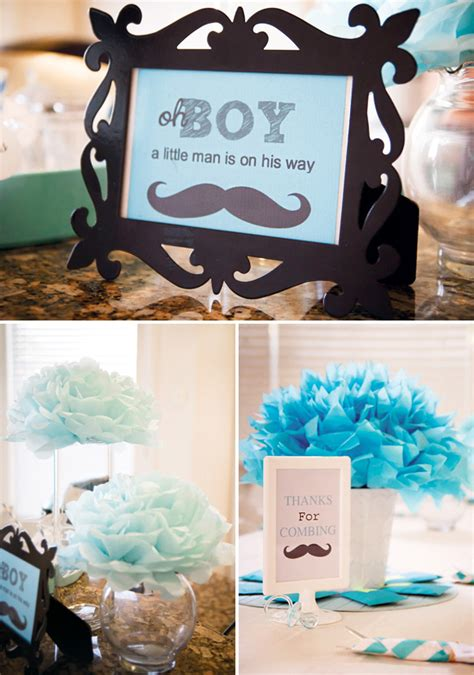 Mustache Baby Shower by Boy Mustache Baby Shower Ideas