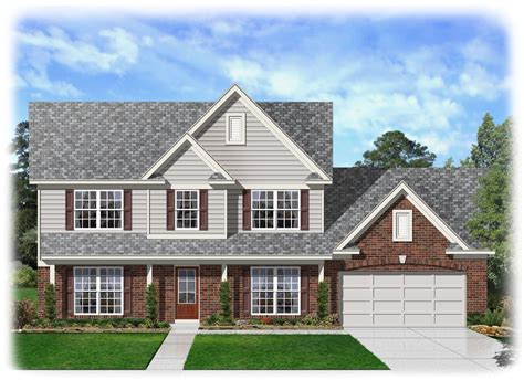 Traditional Home House Plans by Two Story Traditional Home Plan 68041hr