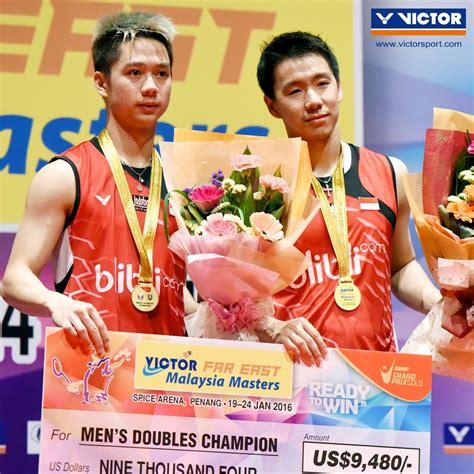 Sepatu Badminton Kevin Sanjaya generasi selanjutnya bersinar di victor malaysia masters