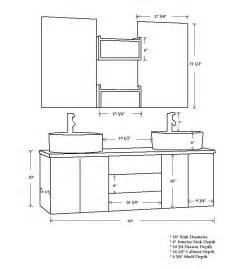 cambridge 59 inch wall mounted vanity set solid