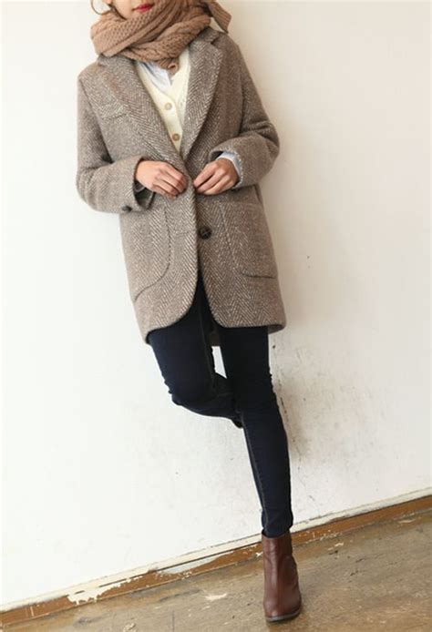 Jaket Black Ink Chelsi tweed jackets tweed and camel scarves on