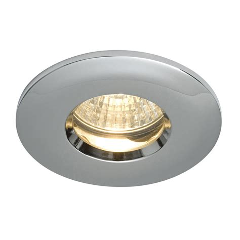 Saxby Dl805c Ip65 Chrome Bathroom Downlight Spotlight Bathroom Spot Lighting