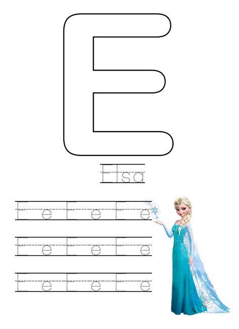 Printable Frozen Worksheets | i make i share free frozen writing worksheets