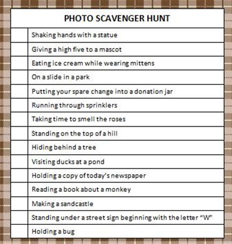 idea hunt pin mall scavenger hunt birthday party on pinterest