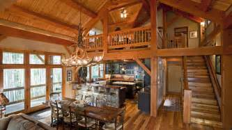 Timber frame home interiors for pinterest