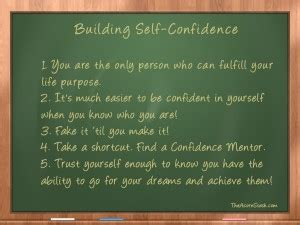 How To Improve Self Confidence Essay by 5 For Building Self Confidence The Acorn Stash
