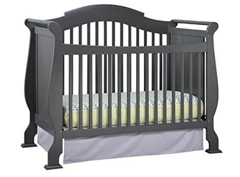 stork craft valentia convertible crib gray baby shop