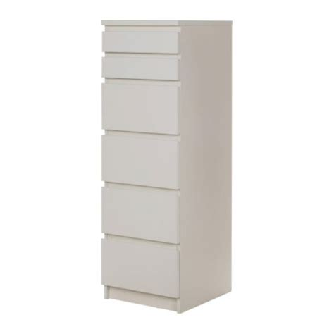 Malm Drawer Divider by Malm 6 Drawer Chest White Mirror Glass