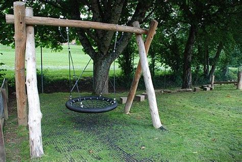 swing limited playground build design natural child play earth