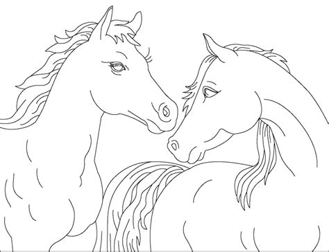 picture of a horse coloring page horse coloring pages free printable pictures coloring